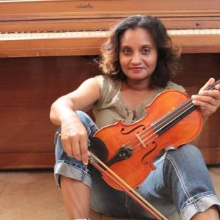 My violin and I